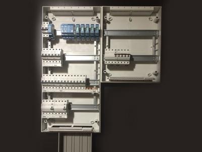 Elektrische installatie handelszaak