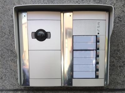 Videofonie appartementsgebouw